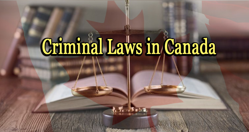 Criminal Laws in Canada